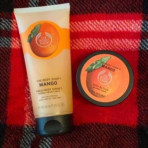 The body shop mango set